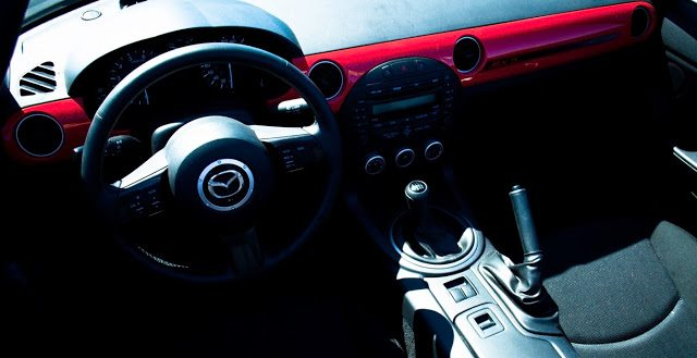 2013 Mazda MX-5 Miata GS interior