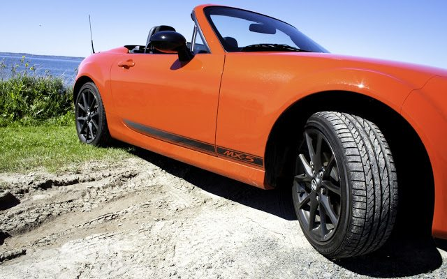2013 Mazda MX-5 Miata GS red