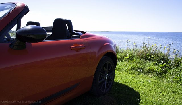 2013 Mazda MX-5 Miata door graphics