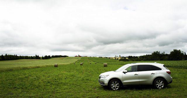 2014 Acura MDX PEI farmland