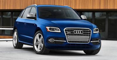 2014 Audi SQ5 blue