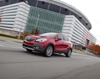 2014 Buick Encore red