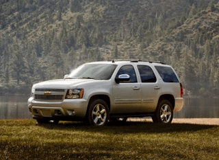 2014 Chevrolet Tahoe silver