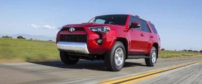 2014 Toyota 4Runner red