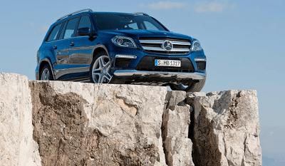 2013 Mercedes-Benz GL-Class blue