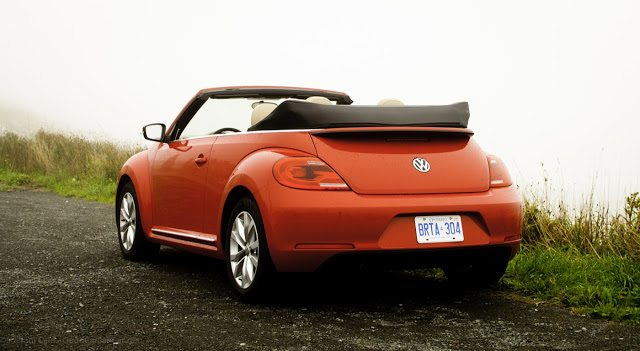 2013 Volkswagen Beetle Convertible rear angle