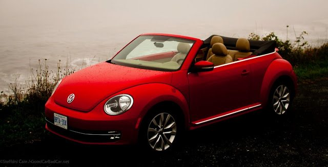 2013 Volkswagen Beetle Convertible Highline red
