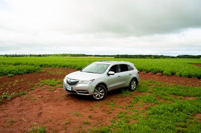 2013 Acura MDX Elite potato field PEI