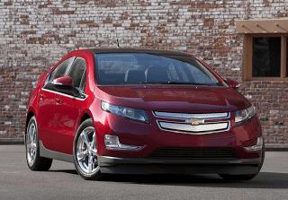 2011 Chevrolet Volt red