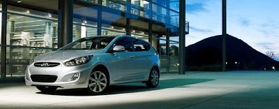 2013 Hyundai Accent hatchback silver