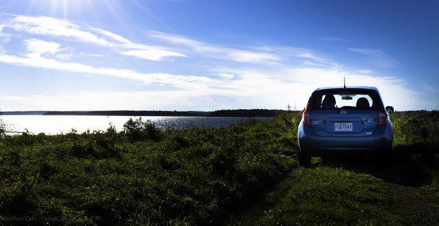 2014 Nissan Versa Note SL rear view