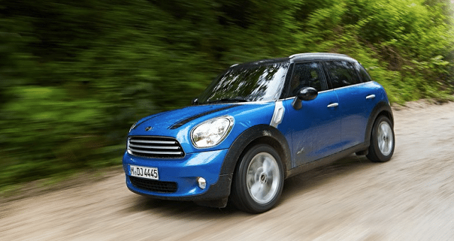 2013 Mini Countryman All4 blue