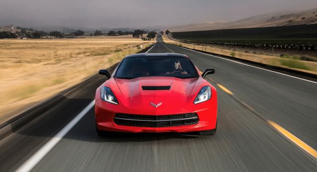 2014 Chevrolet Corvette Stingray C7 red
