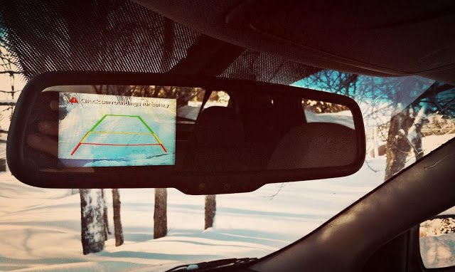 2014 Hyundai Tucson rearview camera