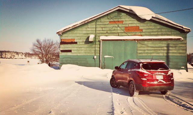 2014 Hyundai Tucson GLS AWD snow PEI