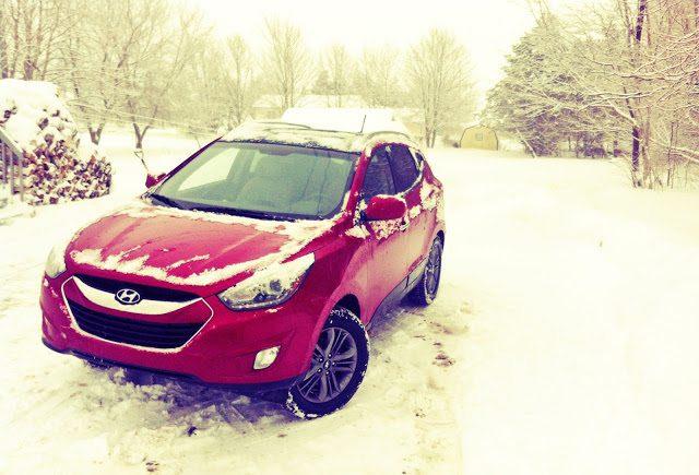 2014 Hyundai Tucson GLS AWD winter