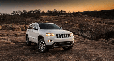 2014 Jeep Grand Cherokee White