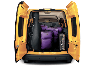 2012 Ford Transit Connect cargo area