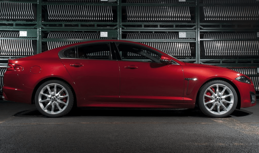 2012 jaguar xf red