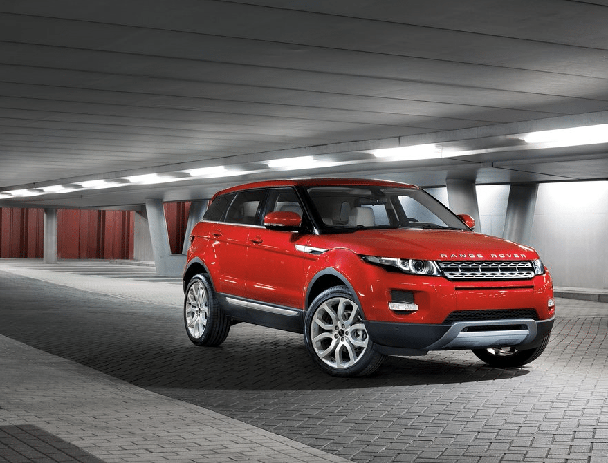 2013 Range Rover Evoque red