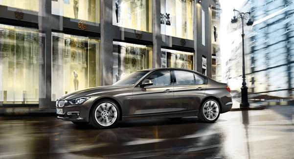 2014 BMW 3-Series sedan brown