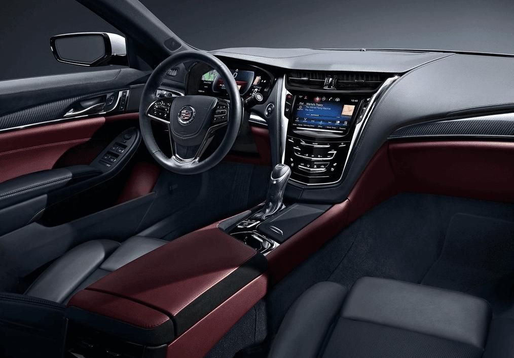 2014 Cadillac CTS interior