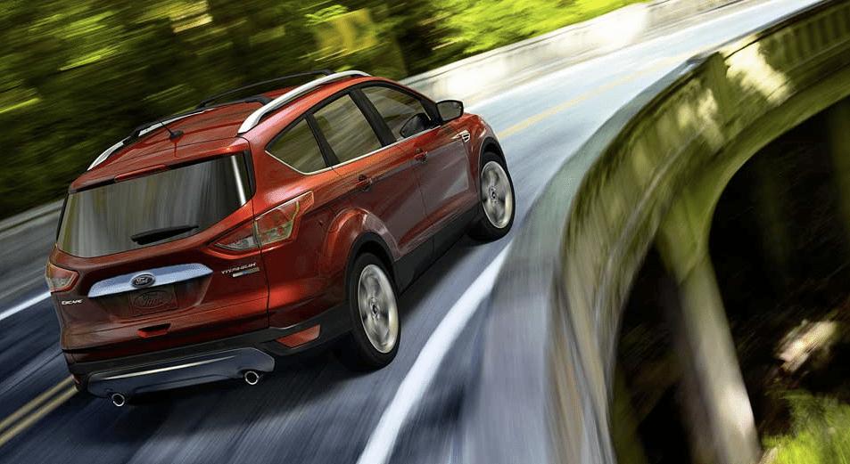 2014 Ford Escape Titanium Red