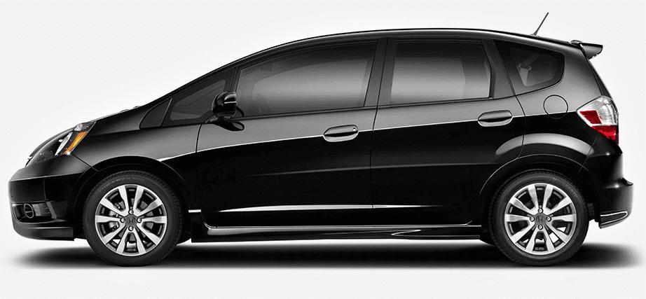 2014 Honda Fit black