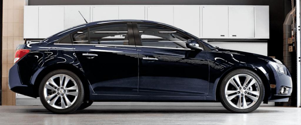 2014 Chevrolet Cruze black
