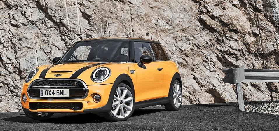 2015 Mini Cooper S yellow