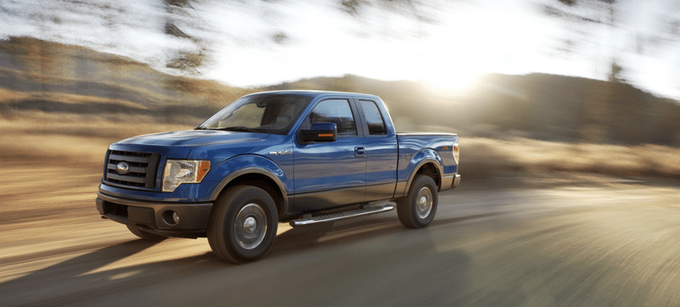 2009 Ford F-150 FX4 Supercab blue