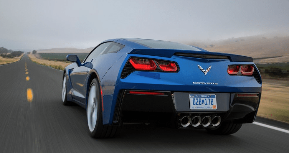 2014 Chevrolet Corvette Stingray C7 blue