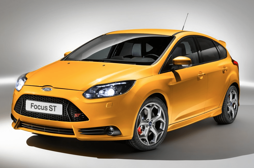 2013 Ford Focus ST yellow