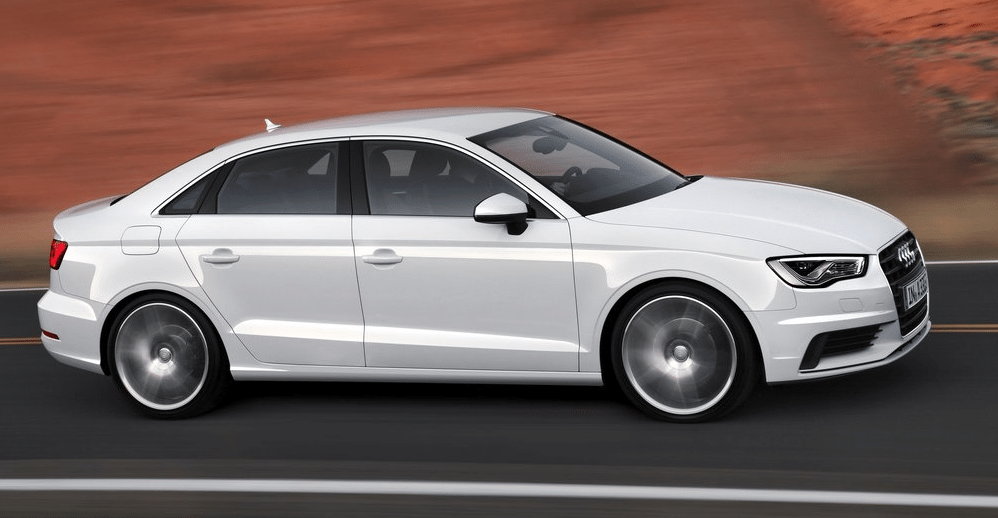 2014 Audi A3 white