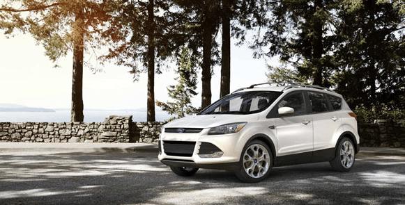 2014 Ford Escape white