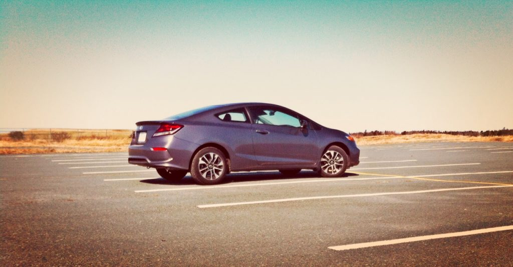 2014 Honda Civic Coupe EX profile