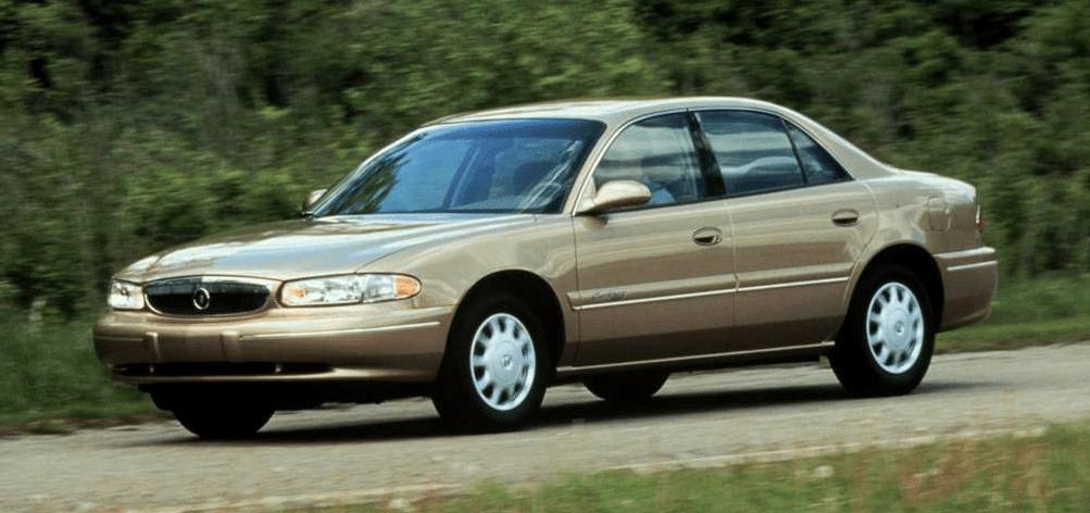 2000 Buick Century beige