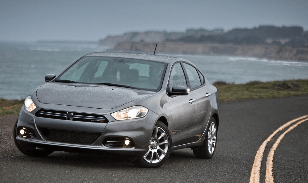 2013 Dodge Dart grey