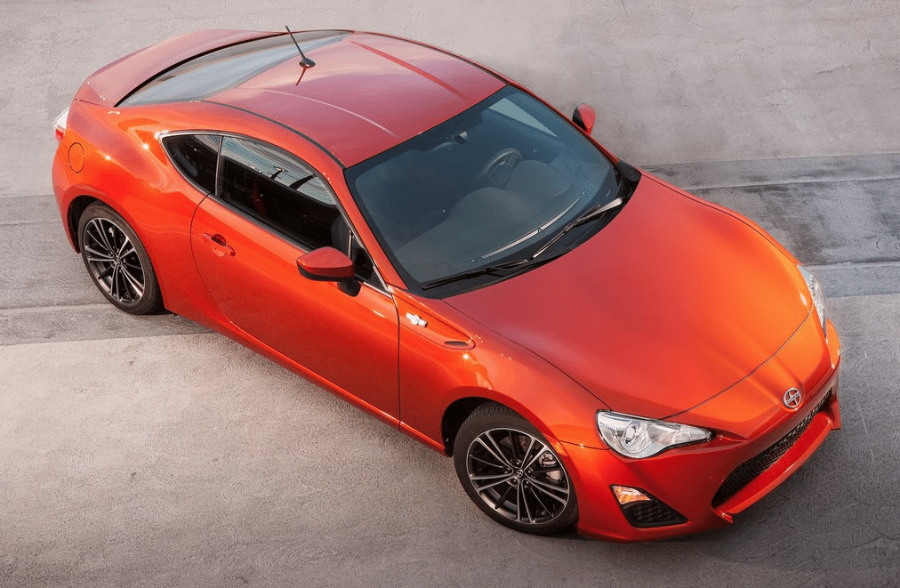 2013 Scion FR-S orange