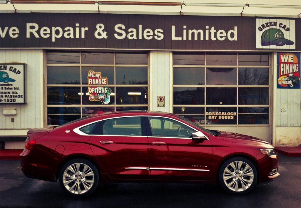 2014 Chevrolet Impala side angle