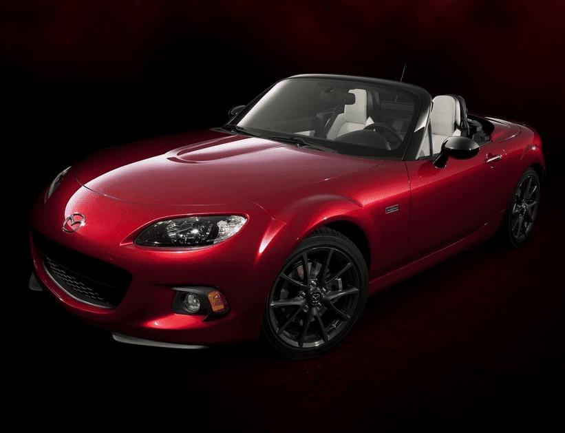 2014 Mazda MX-5 Miata 25th anniversary