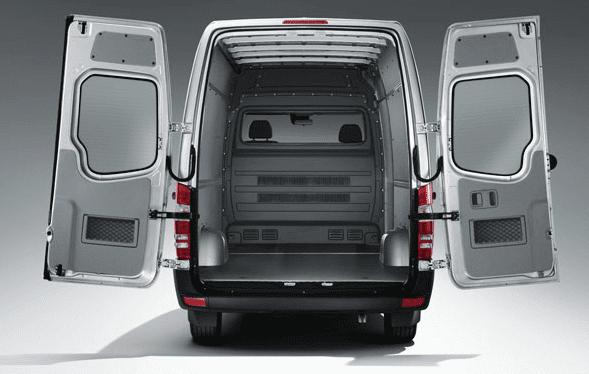 2014 Mercedes-Benz Sprinter cargo van cargo area