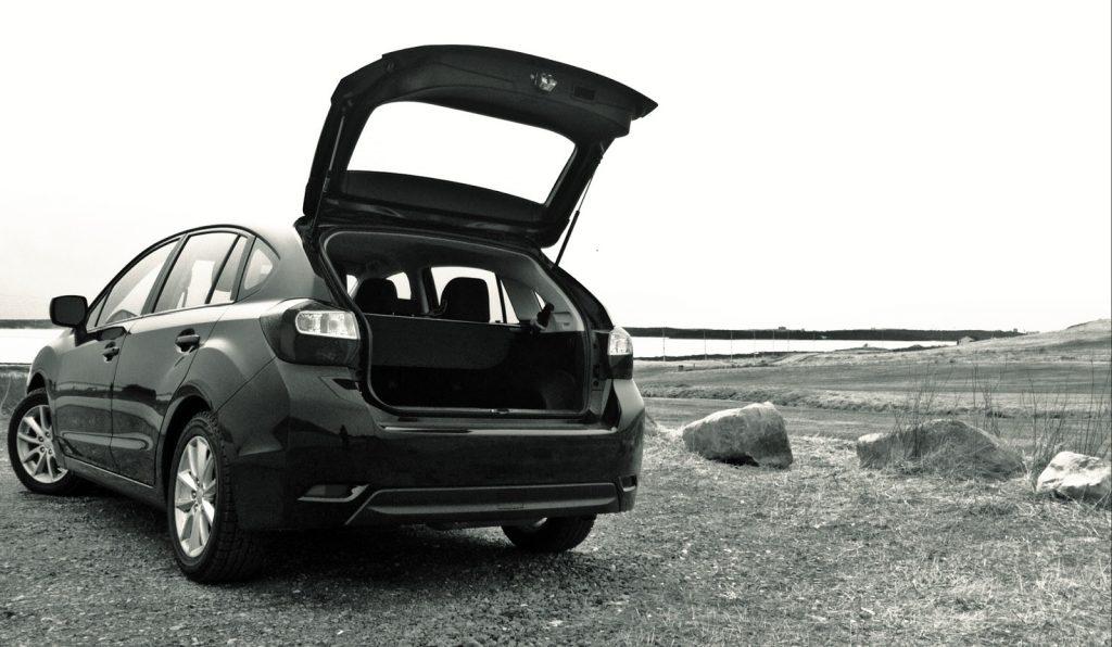 2014 Subaru Impreza hatchback open