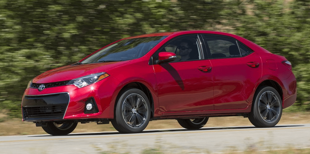 2014 Toyota Corolla S Red