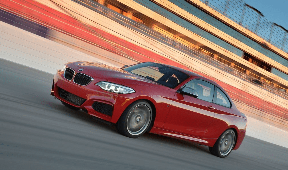 2015 BMW M235i red