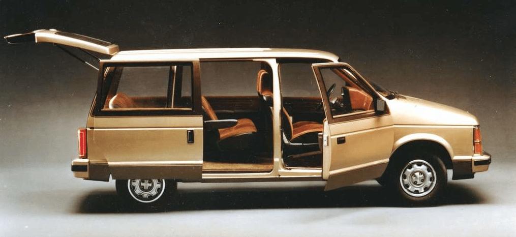 1984 Dodge Caravan beige