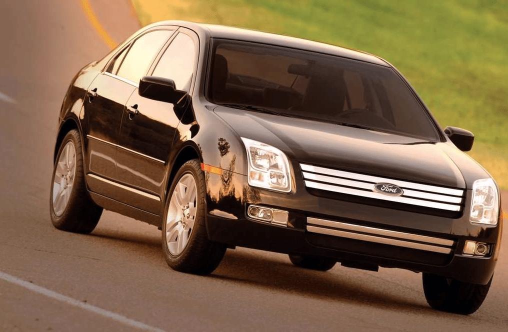2006 Ford Fusion sedan black