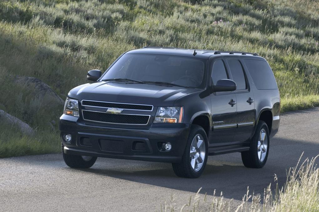 2007 Chevrolet Suburban LTZ black