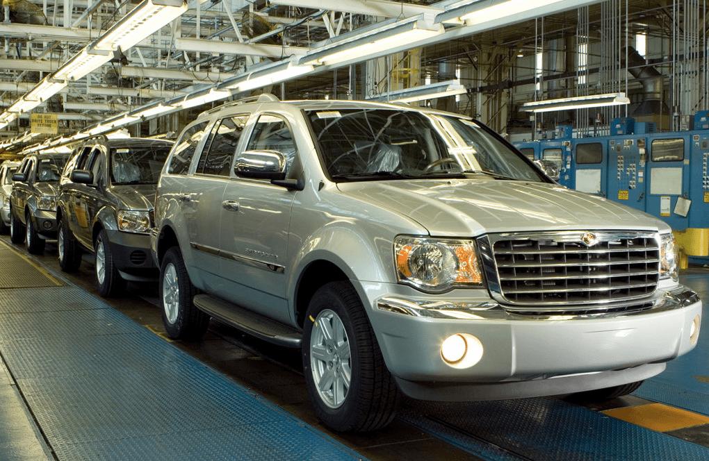 2007 Chrysler ASpen factory