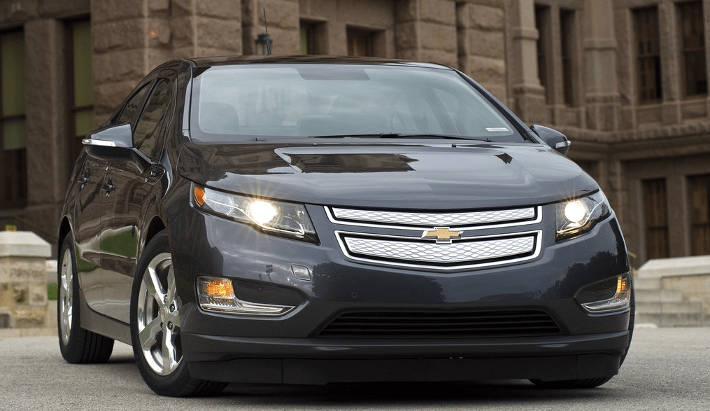 2011 Chevrolet Volt black